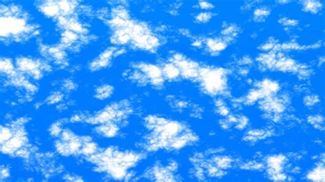 Sky Clouds Animation FREE FOOTAGE HD blue sky YouTube