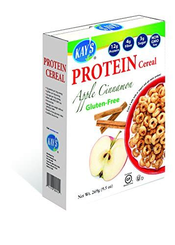 buy kays naturals apple cinnamon protein cereal  oz
