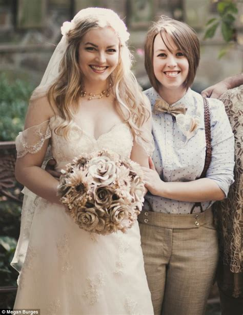 Lesbian Bride 25 Whose Wedding Was Shunned By Her
