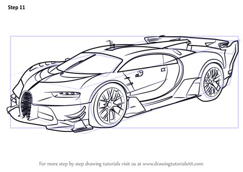 Search through 623,989 free printable colorings at getcolorings. Learn How to Draw Bugatti Vision Gran Turismo (Concept Cars) Step by Step : Drawing Tutorials
