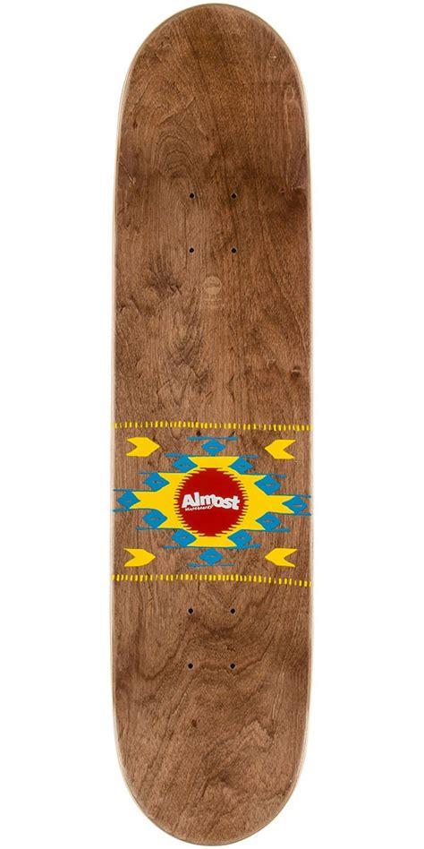Best 75 Skateboard Decks by Almost Aztek Pp Skateboard Deck Lava 7 75 Quot