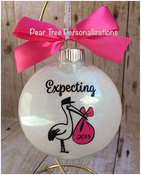 Unique baby shower gifts unique gifts gifts for expecting parents no time for me bakery make it yourself original gifts bakery business bakeries. Expecting Ornament, Expecting Mom Gift, We're Expecting ...