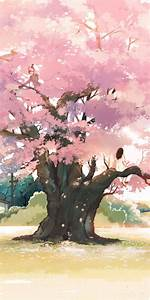 Pink, Anime, Tree, Wallpapers