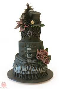 Gothic Halloween Birthday Cake