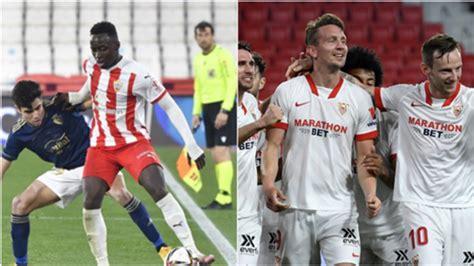Almería vs. Sevilla, cuartos de final de la Copa del Rey ...