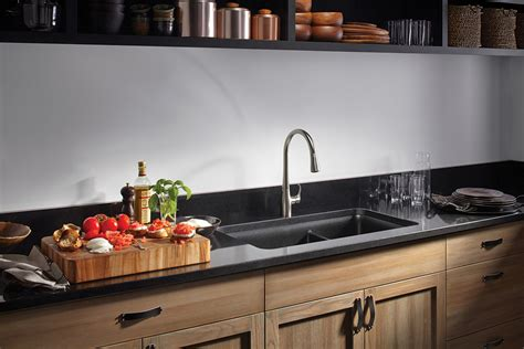 consider these materials for new kitchen sink the
