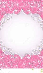 Pink Background With Pearls, For Inviting Stock Vector ...
