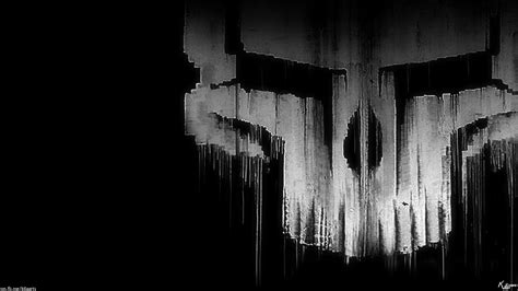 Scary Wallpaper Black And White by Scary Skull Wallpapers Wallpapersafari