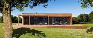 une maison en booa pour tous planete deco a homes world With entree de maison design 6 maison ossature bois plain pied