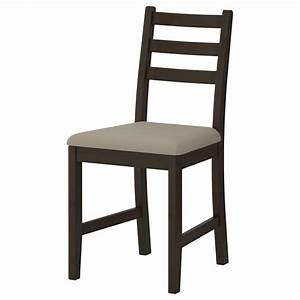 Chaise Noire Ikea : lerhamn chaise brun noir vittaryd beige ikea ~ Teatrodelosmanantiales.com Idées de Décoration