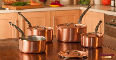 falk classical range saucepan set falk copper cookware