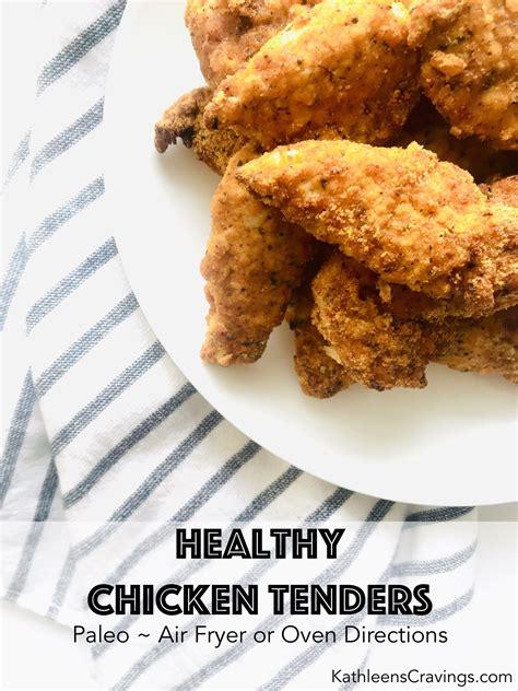 fryer air chicken tenders healthy oven recipe strips cravings kathleen easy crumbs bread