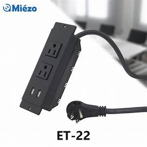 Extension Cord With 2 Outlets  U0026 2 Usb Outlets