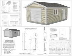 16x20 gambrel garage houses plans designs