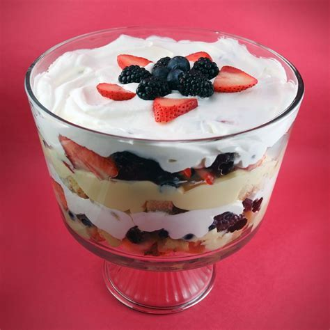 Recipe for the Perfect Traditional English Trifle
