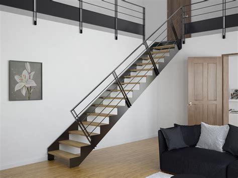 acheter un escalier limons d 233 coup 233 s en cr 233 maill 232 re stairkaze
