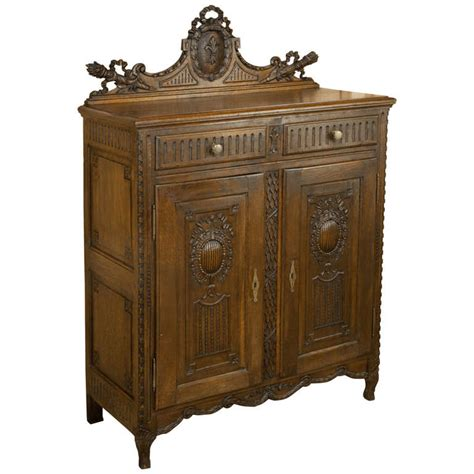 Louis Xvi Cabinet - antique rustic louis xvi cabinet at 1stdibs