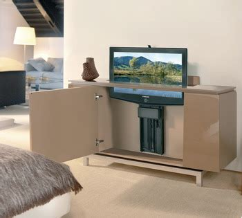 Hydraulic Lift Tv Cabinet by Motorized Tv Lift For Large Tv Panels In The H 228 Fele