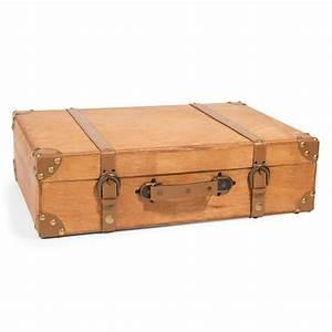 Valise En Bois : valise en bois 33 x 50 cm forest maisons du monde ~ Teatrodelosmanantiales.com Idées de Décoration