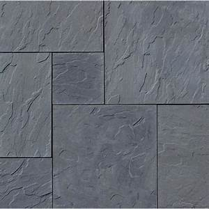 Nantucket Pavers Patio-on-a-Pallet 120 in x 120 in Gray