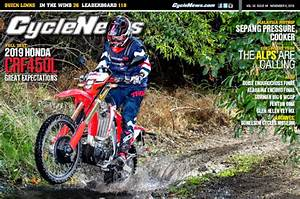 Cycle News Magazine: 2019 Honda CRF450L Full Test, Sepang MotoGP...