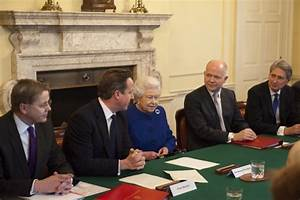 Queen Elizabeth II Attends The Government's Weekly Cabinet ...