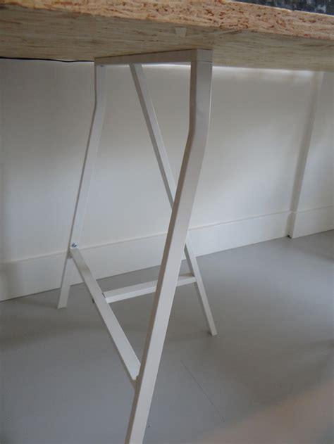 bureau diy werkkamer inrichten diy bureau klapstoelen livelovehome
