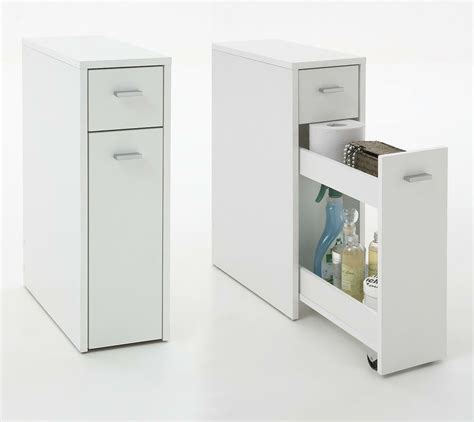 Slim Bathroom Drawers by Quot Denia Quot Genius Slimline Bathroom Kitchen Slide Out