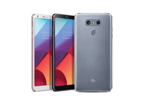 Lg Unveils New G6 With Large Fullvision Display Tailored