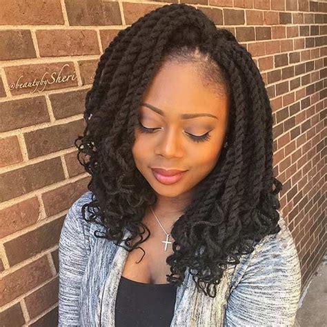black twist hair styles 31 stunning crochet twist hairstyles stayglam hairstyles 6660