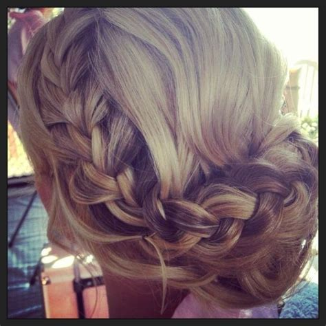 Bridesmaid Updo Hairstyles With Braids by 30 Bridesmaid Hairstyles For Hair Popular