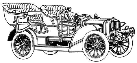 Antique Automobile Car Clip Art