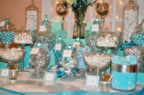 tiffany buffet table ls tiffany and co baby shower theme baby shower ideas