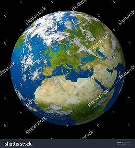 Planet Earth Featuring Europe European Union Stock ...