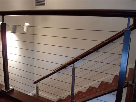 interior cable railing  norwalk ct riverside fence