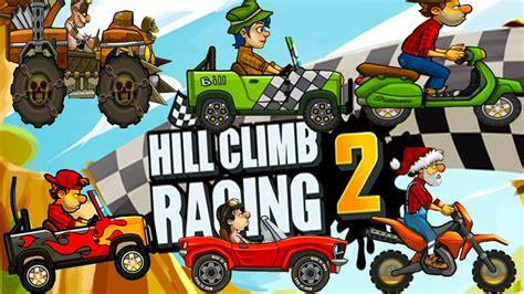 hill climb racing monster truck hill climb racing 2 all vehicles monster truck vs