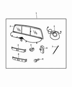 82210002 - Genuine Dodge Window-slider