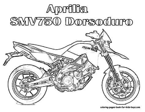 Kleurplaat Real Weel by Motorcycle Coloring Pages Aprilia Motorcycle Coloring At
