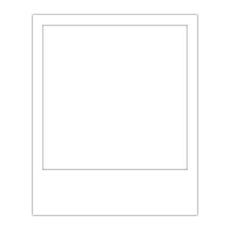Polaroid Template Polaroid Frame Template Overlay Transparent