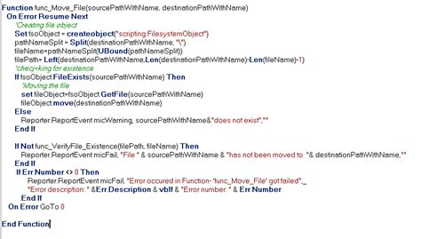 Difference Between Recovery Scenario And On Error Resume Next In Qtp by Blogs On Qtp Automation Error Handling In Qtp