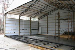 And here it is installed for 40 ft trusses for sale
