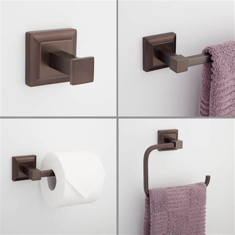 rubbed bronze bathroom accessory kit charming rubbed bronze bathroom accessories the homy