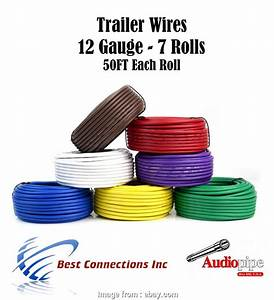 7 Gauge Wire Best 7  Trailer Wire Light Cable  Harness 50