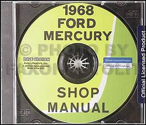 1968 Ford Galaxie  U0026 Mercury Big Car Original Repair Shop