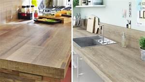 Plan De Travail Cuisine En Bois : cuisine comment huiler son plan de travail en bois ~ Melissatoandfro.com Idées de Décoration