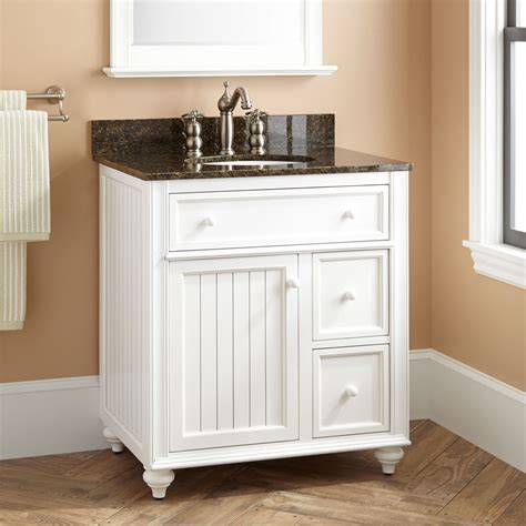 "30"" Cottage Retreat Vanity for Undermount Sink White"
