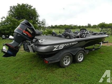 New Boats For Sale In Dallas Texas by As New 2012 Nitro Z9 Dc For Sale In Dallas Texas