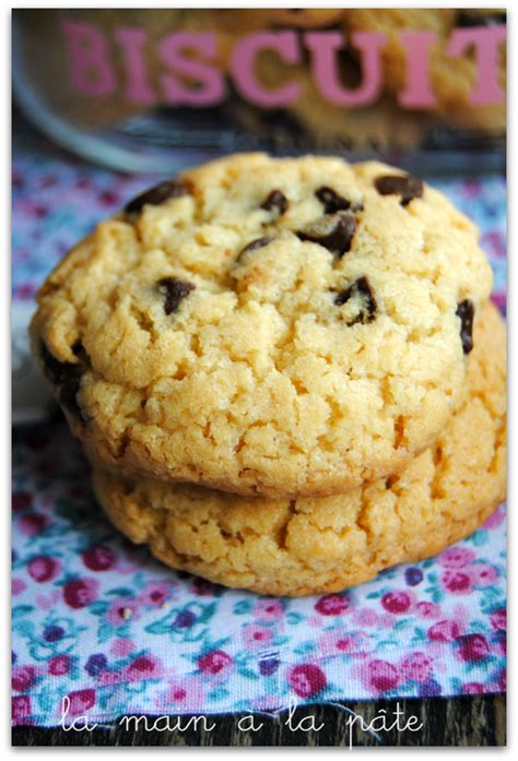 recette pate a cookie cookies am 233 ricains