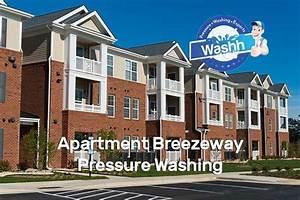 Apartment Breezeway Pressure Washing Services Charlotte