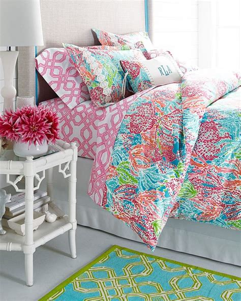 lilly pulitzer lets cha cha bedroom